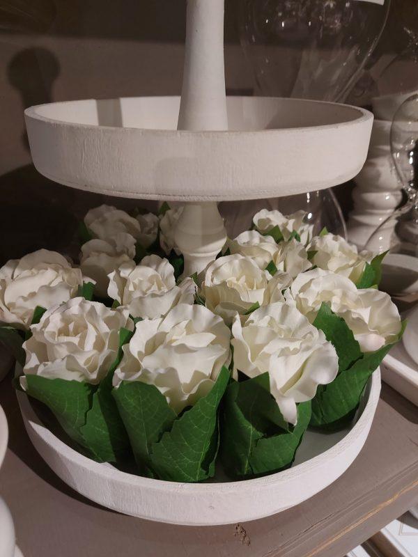 Bouquet 1 Rosa Blanca